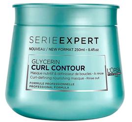 L'Oreal Serie Expert Glycerin Curl Contour Maska Włosy Kręcone I Falowane 250 ml